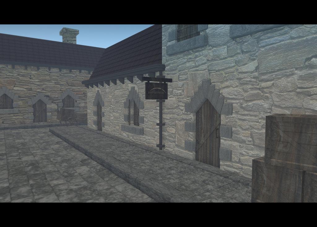 Mise en scène extérieure 3D
