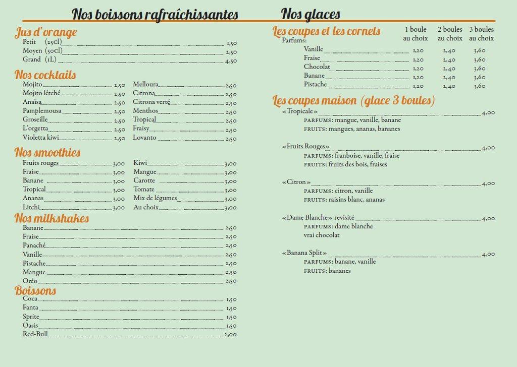 Papeterie et menus